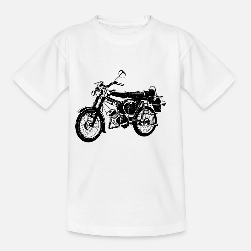Gift T-Shirts - Simson S51 B4 - Kinderen T-shirt wit