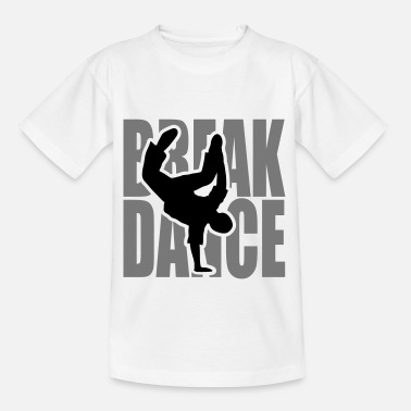 Breakdance Breakdance danza break música silueta Clipart - Camiseta niño