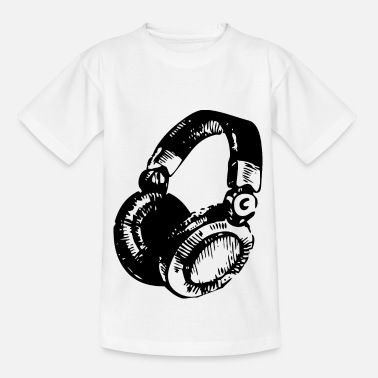 Dj DJ Headset - Kinder T-Shirt