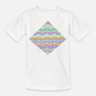 Rhombus Chains in a rhombus - Kids' T-Shirt
