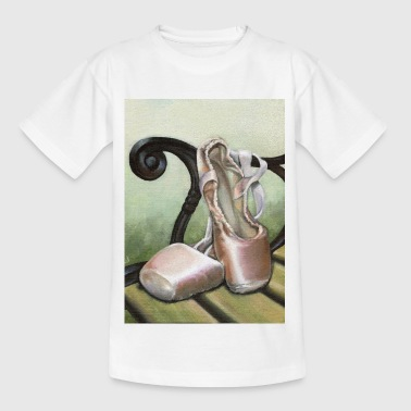 pointe shoes - Kids' T-Shirt