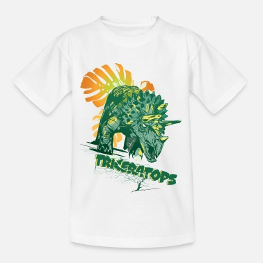 Dino Animal Planet Triceratops - Kids' T-Shirt