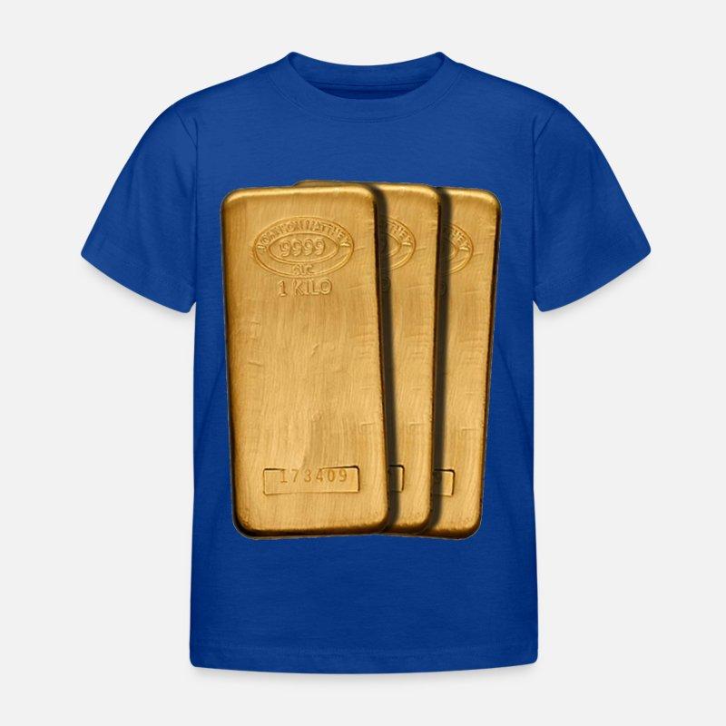 gull T skjorte barn   Spreadshirt