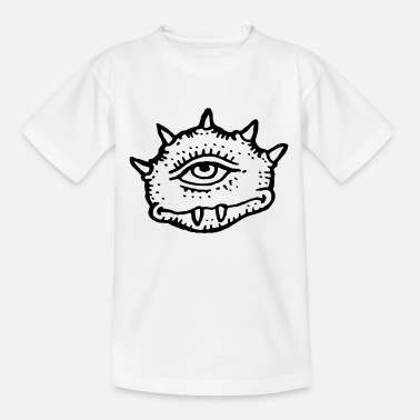 Bad Look A monster with a bad look - Kids' T-Shirt