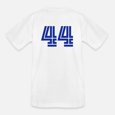 Number 44s College Numbers, Nummern, Sports Numbers, 44 - Kids' T-Shirt