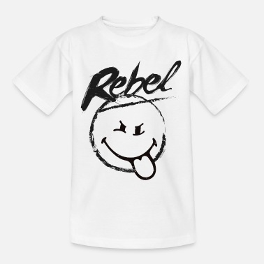 SmileyWorld Rebel - Kinderen T-shirt