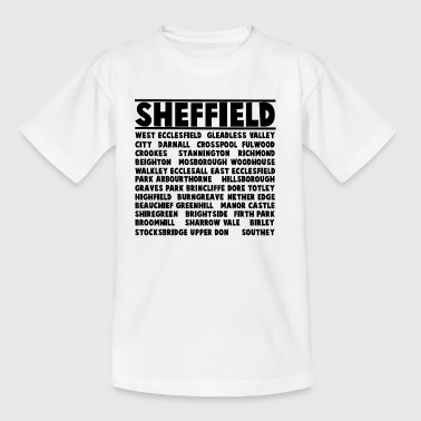 Sheffield City - Kinderen T-shirt