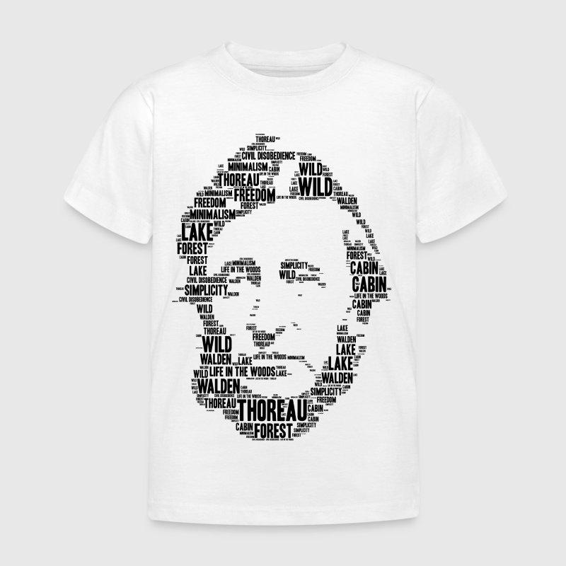 Thoreau Schablone Wortwolke von Tbee | Spreadshirt