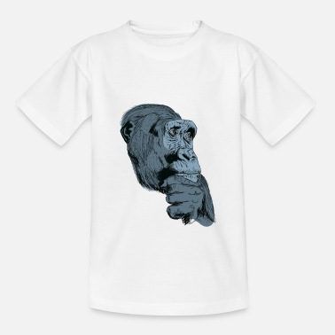 Charade Gorilla monkey t-shirt for gorilla fans and kids - Kids' T-Shirt