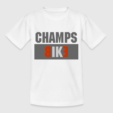 Bicycle champions - Kids' T-Shirt