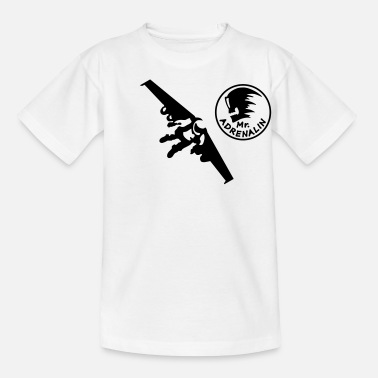 Jet rocket man - Kinder T-Shirt