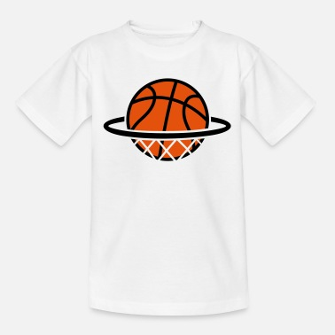 Basket Ball Basketball Basket   - Kids' T-Shirt