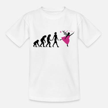Evolution of woman Elf-03 - Kinder T-Shirt