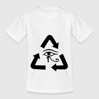 Reincarnation gift idea arrows sign icon - Kids' T-Shirt