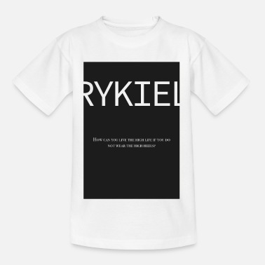Sonia Rykiel Modeschöpferin Mode Paris Fashion - Kinder T-Shirt