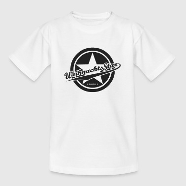 SUPERIORS™ - WEIHNACHTS STAR - Motiv Black Circle - Kinder T-Shirt