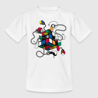 Rubik's Cube Illustration - T-shirt Enfant