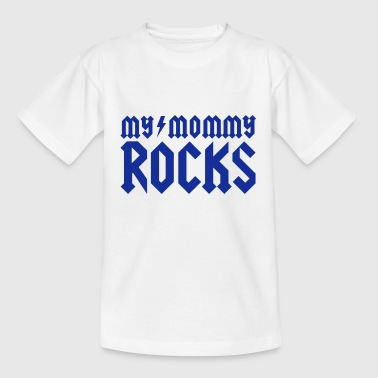 Heavy My mommy rocks - Kinder T-Shirt