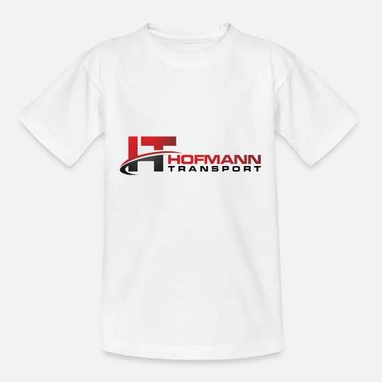Transport T-Shirts - Hofmann transport - Kids' T-Shirt white