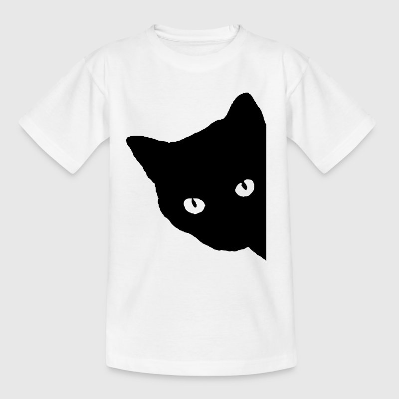 Silhouette de chat - T-shirt Enfant