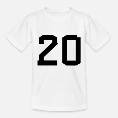 Sport Number 20 - T-shirt barn