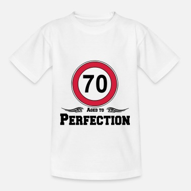 Jahresfest 70 Aged to Perfection - Kinder T-Shirt