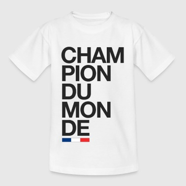 Champion du monde - France - T-shirt Enfant