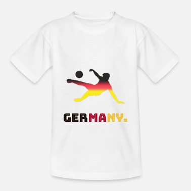 GERMANY SOCCER FOOTBALL TEAM - Kids' T-Shirt
