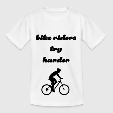 bike riders - Kids' T-Shirt