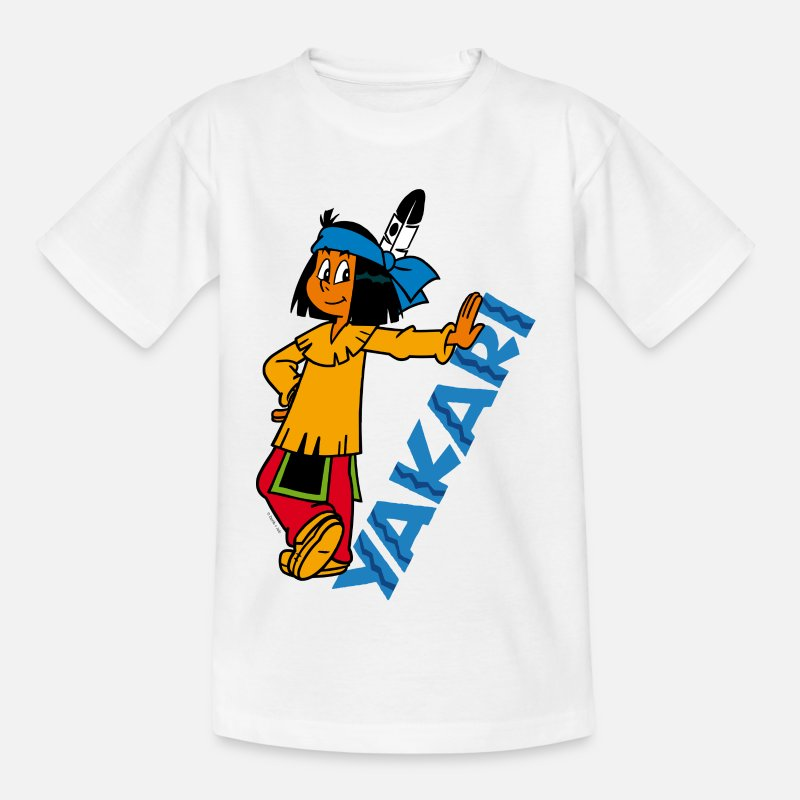 Officialbrands T-shirts - Yakari Tee shirt Enfant - T-shirt Enfant blanc
