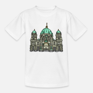 Spree Berlin Cathedral c - Kids' T-Shirt