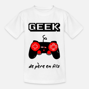 Stem Day geek de père en fils,geek,gaming,papa - T-shirt Enfant