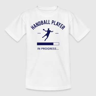 Handball player loading - Kinder T-Shirt