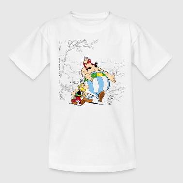 Asterix & Obelix Dogmatix Taking A Walk - Børne-T-shirt