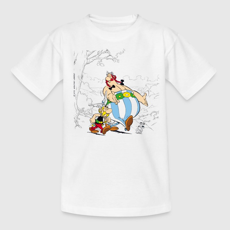 Asterix & Obelix Dogmatix Taking A Walk - Camiseta niño