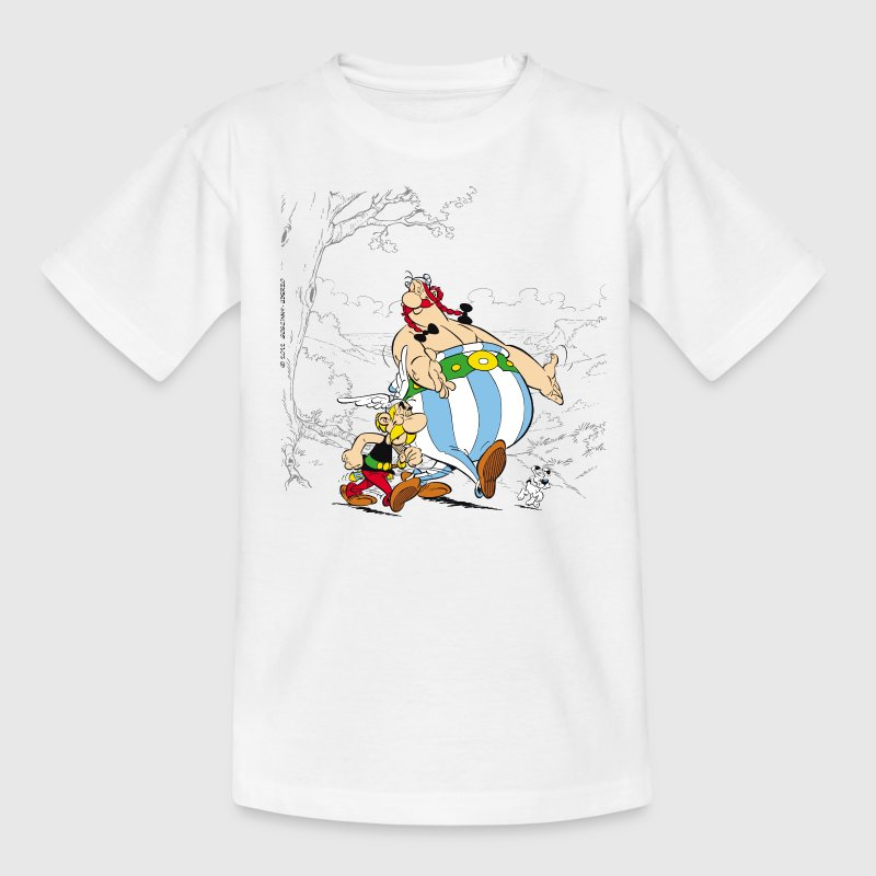 Asterix & Obelix Dogmatix Taking A Walk - Kids' T-Shirt