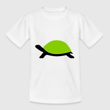 Tortue bicolore - T-shirt Enfant