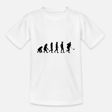 Floorball Evolution Floorball - Kinder T-Shirt