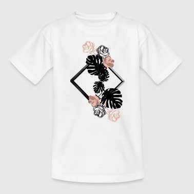 Flower Power - Blumen - Kinder T-Shirt