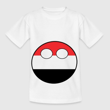 Home Country Countryball Country Home Yemen - Kids' T-Shirt