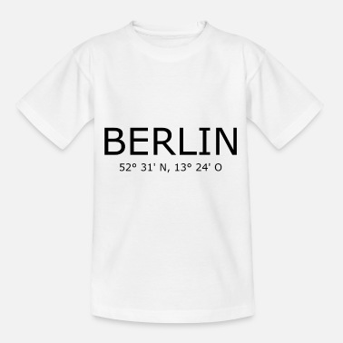Brandenburg Gate Berlin Coordinates - Germany Brandenburg Gate - Kids' T-Shirt
