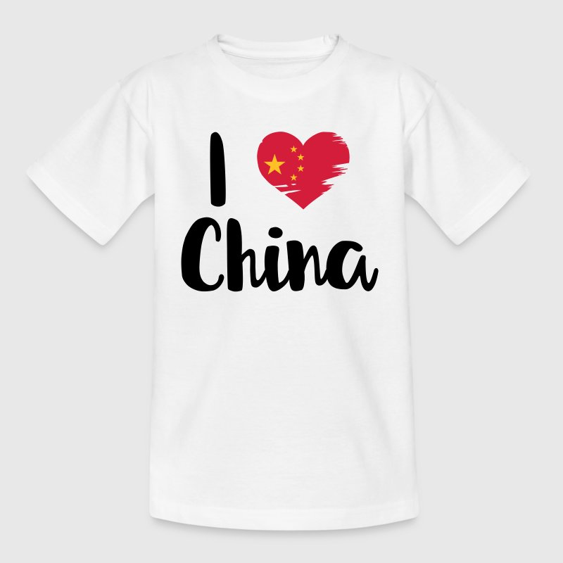 I love China - Kids' T-Shirt