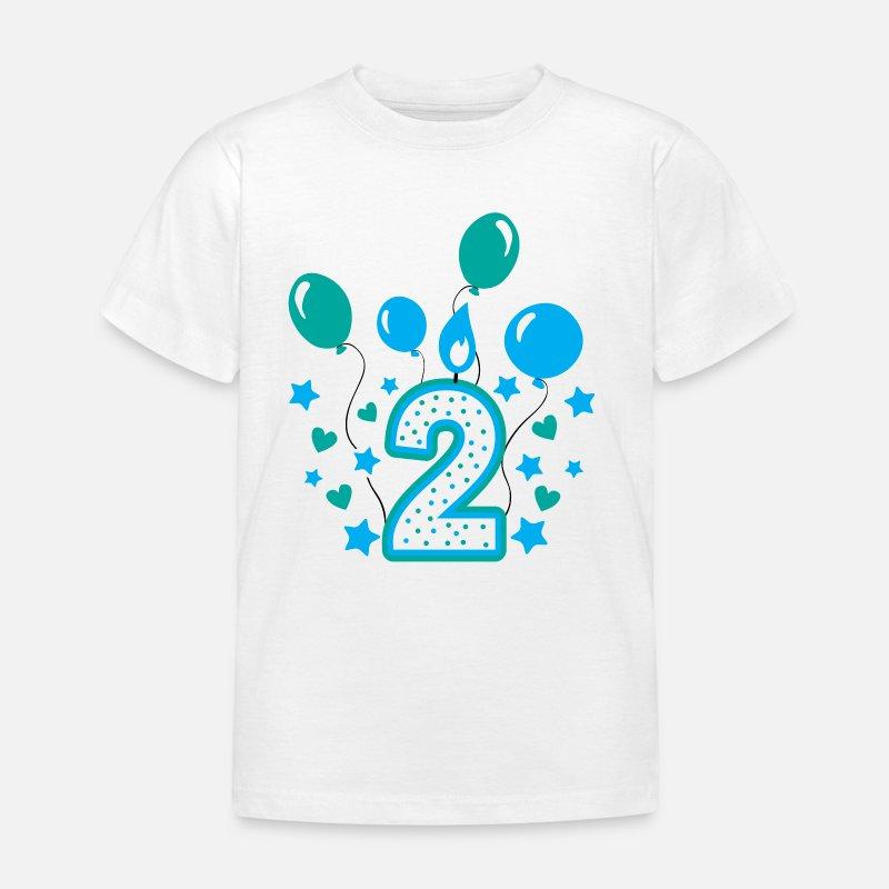 Second Birthday Boy 2nd Gift Kids T Shirt