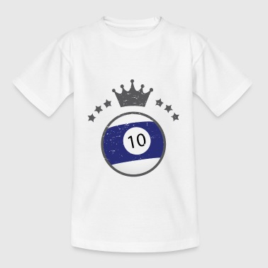 Billiard ball T-shirt - Kids' T-Shirt