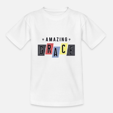 amazing Grace - Gnade - Kinder T-Shirt