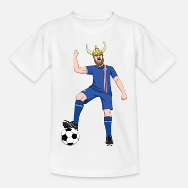 Iceland Football World Cup Iceland Iceland HUH Football Team Fan Vikings - Kids' T-Shirt