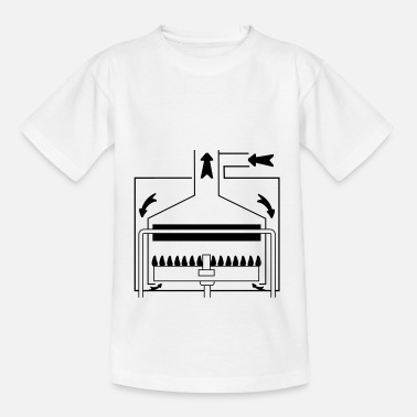 Boiler Boiler with a sealed chamber - Kids' T-Shirt
