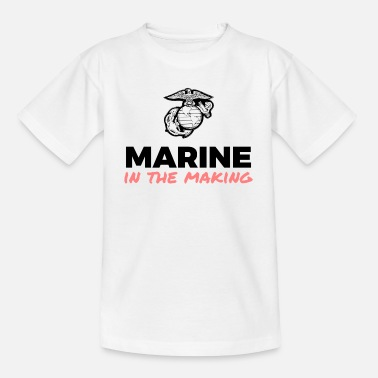 Marine in the Making - Kinderen T-shirt