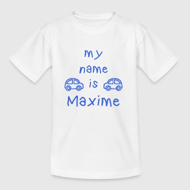MAXIME MY NAME IS - T-shirt Enfant