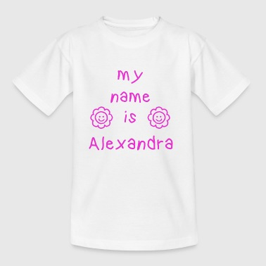 Alexandra ALEXANDRA MY NAME IS - Kids' T-Shirt